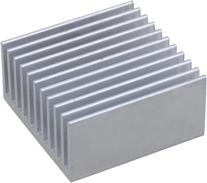 5PCS 40x40x20mm Heat Sink Cooling Fin Radiator for Power Source Electronic
