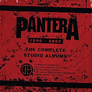 "The Complete Studio Albums 1990-2000 (5 LP Colored Vinyl w/7"" Vinyl Single)"