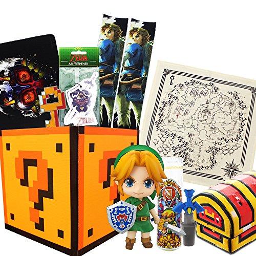 Legend of Zelda Gift Box, Link Nendoroid Figure, Master Sword Wine Cork & More