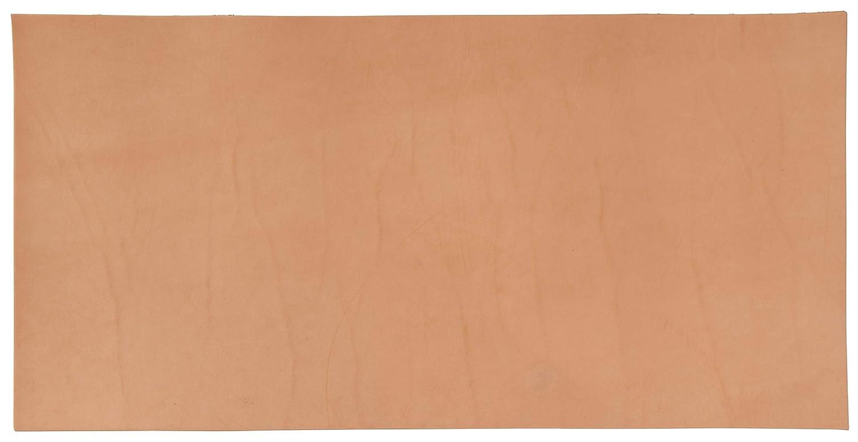 8 to 9 oz. Natural Hermann Oak Veg-Tan Craft Leather Sheet