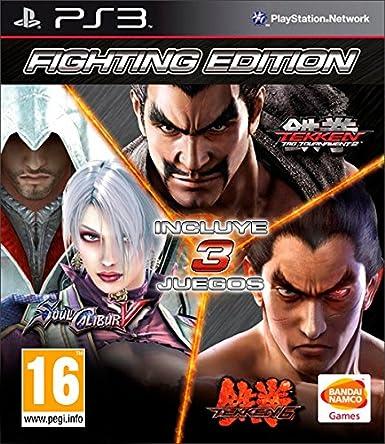 Tekken 6 + Tekken Tag Tournament 2 + Soulcalibur V: Amazon.es: Videojuegos