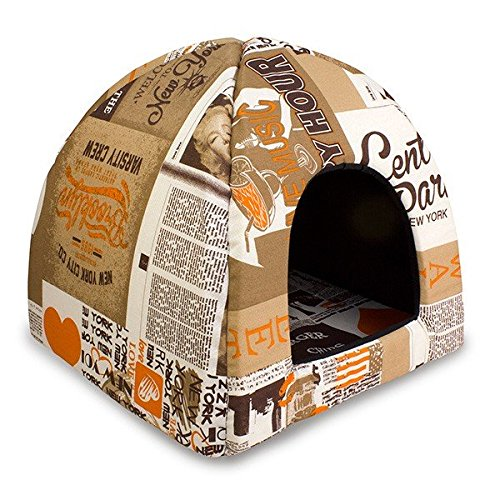 Cueva iglu happy hour para perros y gatos: Amazon.es: Productos para mascotas