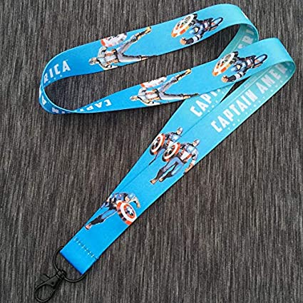 Amazon com: Momoso_Store captain america phone strap neck strap