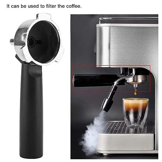 Soporte de Filtro de Café de Aleación Reutilizable para Cafetera con Mango Portafilter para Electrolux EUPA Serie Comercial Doméstica