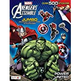 Avengers Giant Sticker Activity Book