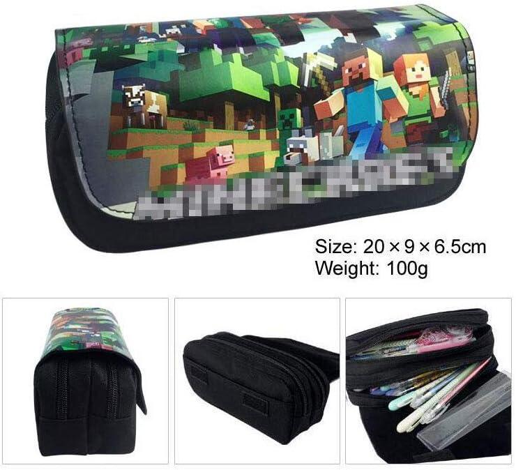 boyigog Pencil Case – Estuche para Lápices Grande Capacidad Estuche Escolar para artículos de papelería Estudiante en Escuela Oficina (Verde 3): Amazon.es: Hogar