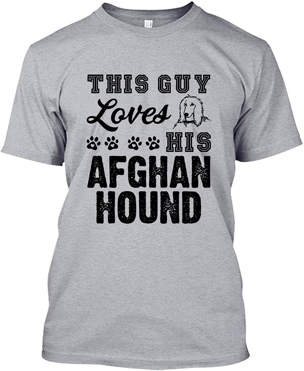 Short Sleeve Shirts Loves Afghan Hound Tee Shirt