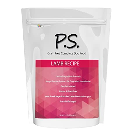 Ps For Dogs 100 Hypoallergenic Dog Food – No More Paw Licking Skin Scratching Solves Allergies Naturally – No More Harmful Shots, Pills Expensive Prescription Food