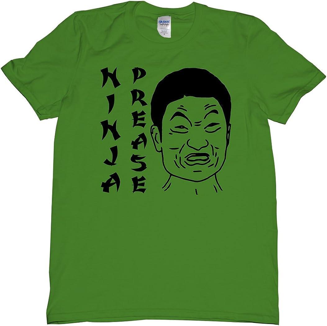 Amazon.com: Ninja Prease Drop Your Attitude T Shirt Mens N ...