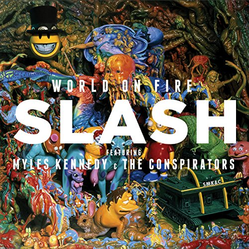 Price comparison product image World On Fire (Feat. Myles Kennedy And The Conspirators)