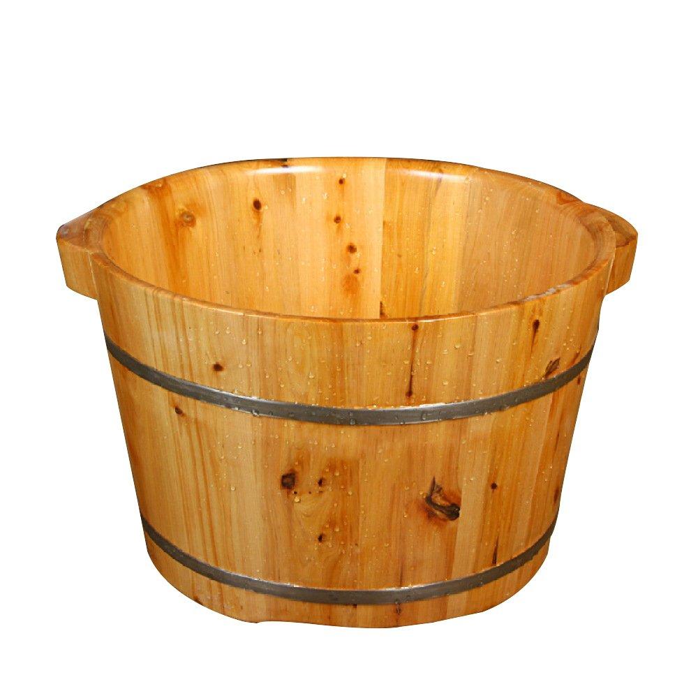 ERHANG Saune Vasca Per Pedicure Vasca Da Bagno In Legno Alta 24 Cm Vasca Da Bagno In Legno
