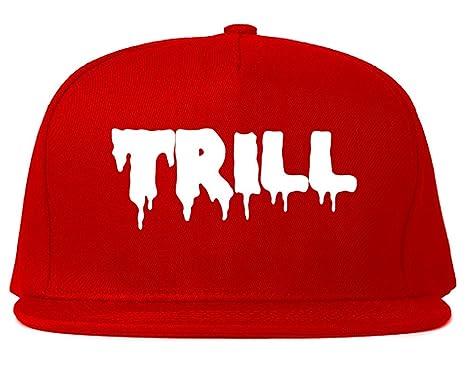 842b04c0b26 Kings Of NY Trill Blood Snapback Hat - Red -  Amazon.co.uk  Clothing