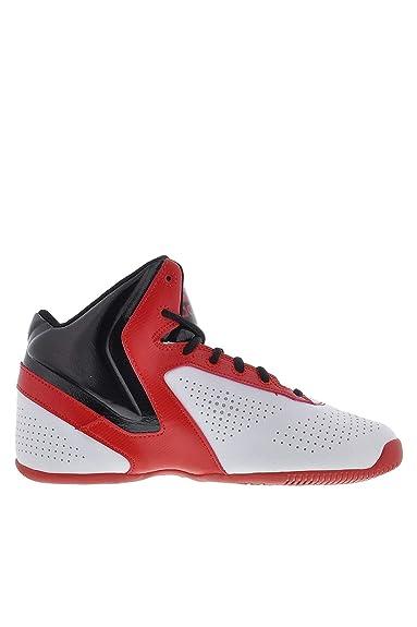 ADISAS - Zapatillas de Baloncesto para niño Blanco FTWWHT/Scarle ...