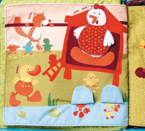 Cualquier g/énero Lilliputiens Jef libros de tela para beb/és