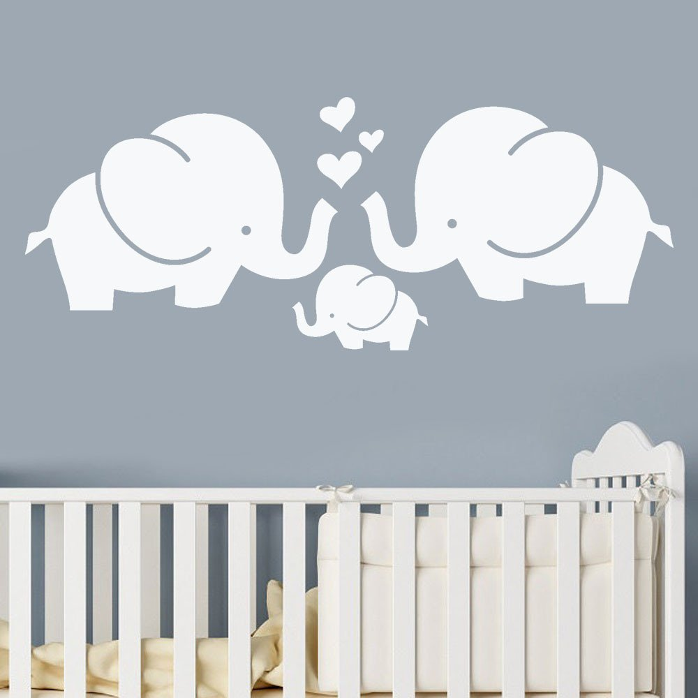 Removable Wall Sticker Clearance Sale, Libermall Art Vinyl Mural Elephant Wall Stickers Children's Room Decor Creative Wall Decal Sticker, Best for Home Decor Cute Animal Wallpaper