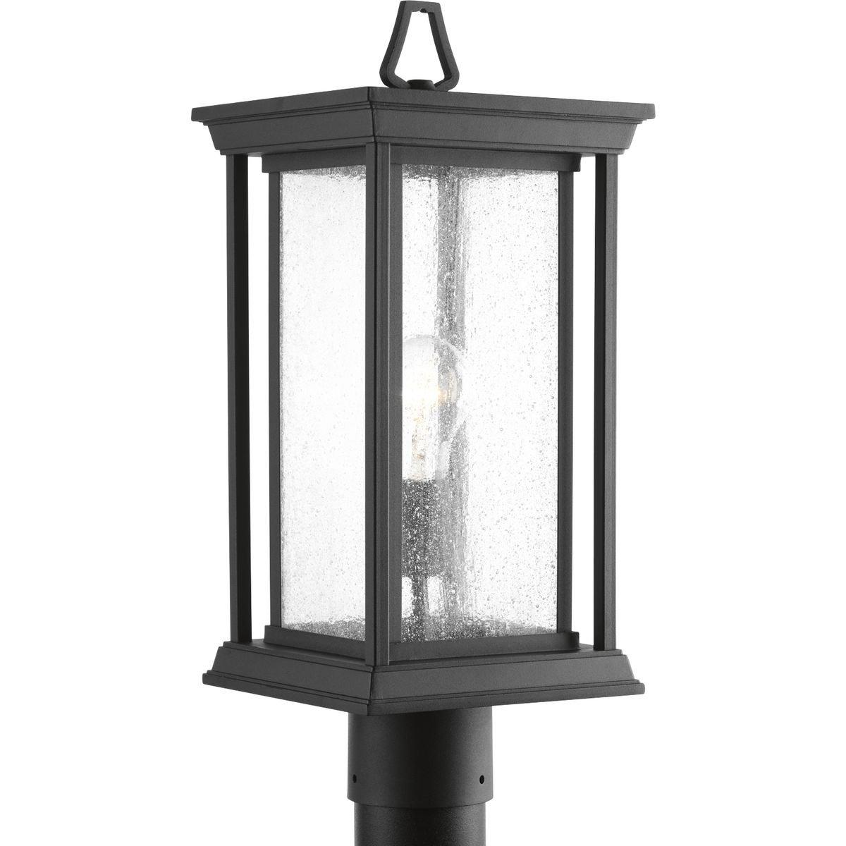 Progress Lighting P5400-31 Endicott Black One-Light Post Lantern, by Progress Lighting