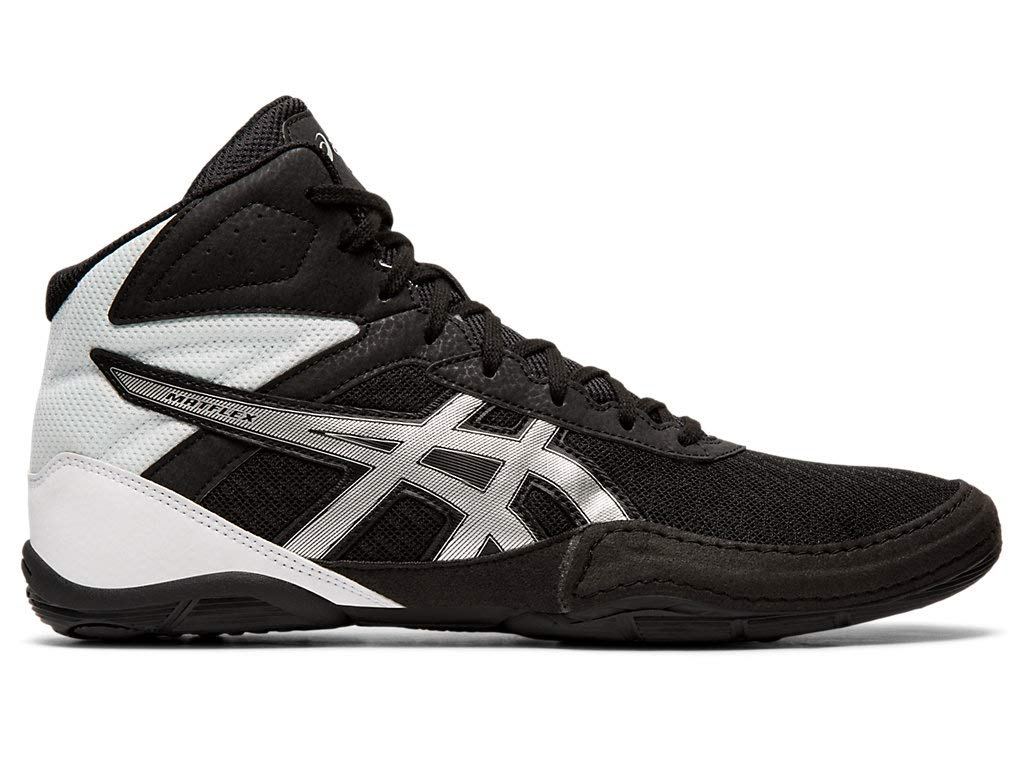 ASICS Men's Matflex 6 Wrestling Shoes, 10.5M, Black/Silver by ASICS
