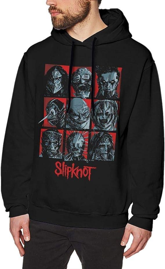 Imagen deADUUOS Mens Long Sleeve Sweatshirts Men's Hoodies Black