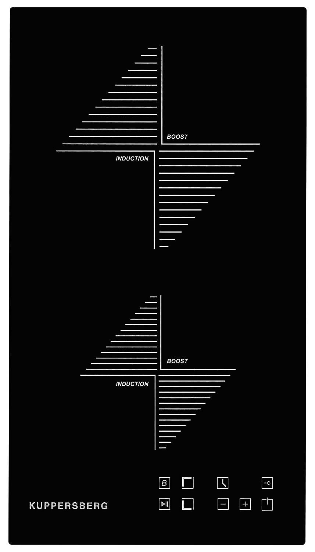 Kuppersberg - Placa de inducción de 30 cm/Autark/Stop and Go ...