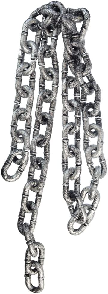 Simulation Metal Chain Links Costume Halloween Party Prop Cosplay Accessories 8C