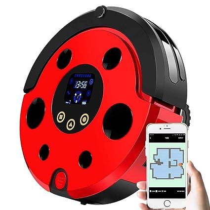 Ting Ting Robot Aspirador, Control Mediante Smartphone App, Carga Automática, Adecuado para Suelos