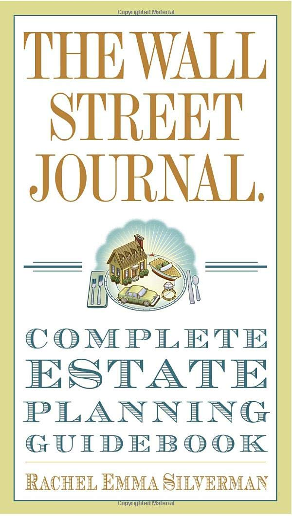 04f0ff2b93 The Wall Street Journal Complete Estate-Planning Guidebook (Wall ...