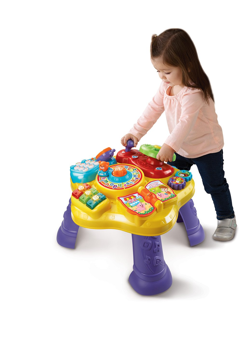 Musical Educational Toys : Vtech magic star baby learning educational activity table