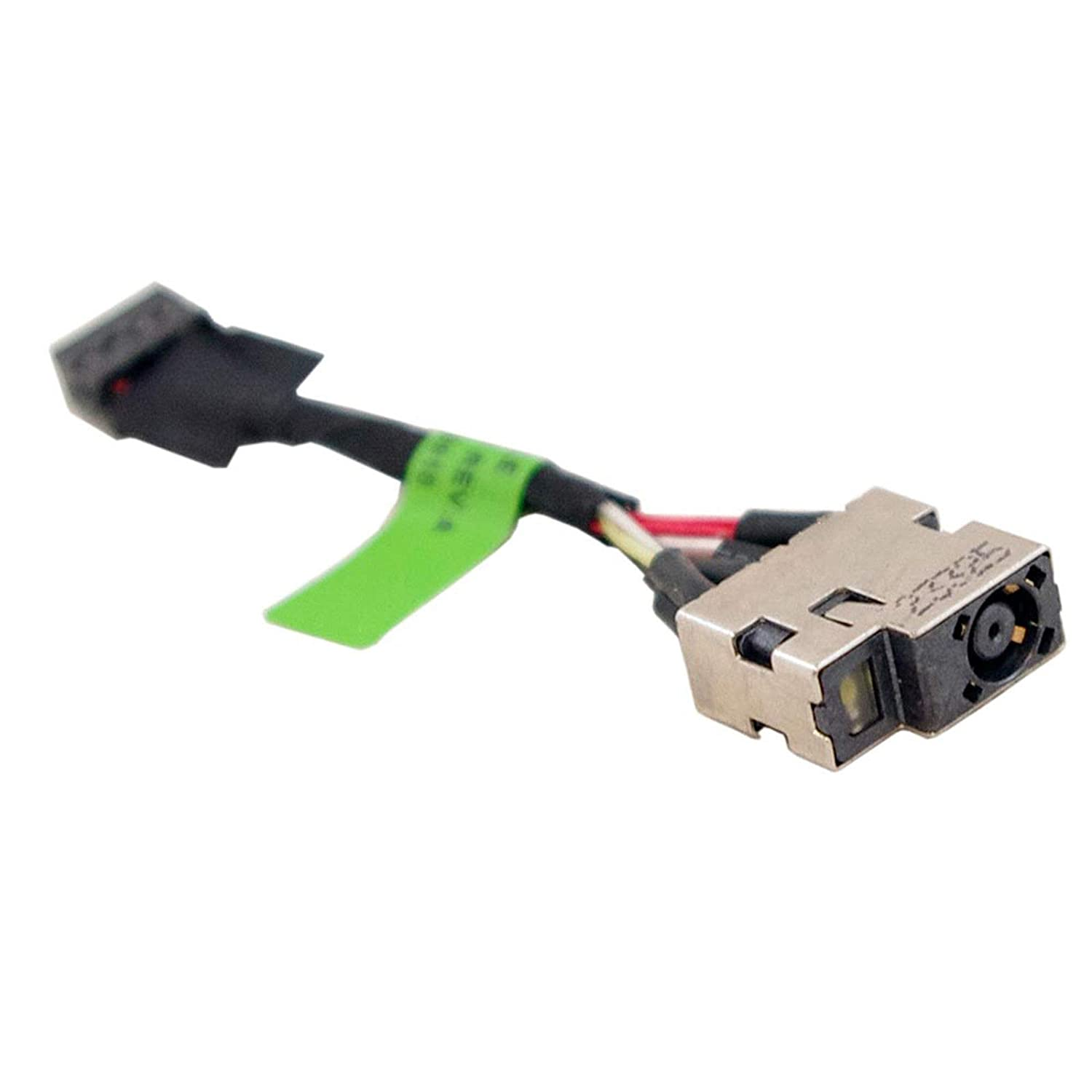 DBParts DC Power Jack Cable For HP Pavilion 15-P001NR 15-P011NR 15-P030NR 15-P071NR 15-P151NR 15-P210NR 15-P221NR 15-P222NR 15-P224NR 15-P283NR 15-P390NR 15-p391nr 15-P393NR 15-P019NR 15-P021NR P022NR