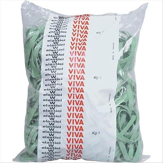 12 opinioni per Viva F8 x 150 Fettucce Viva, Ø 150 mm x 8 mm, Confezione 1000 G, Verde