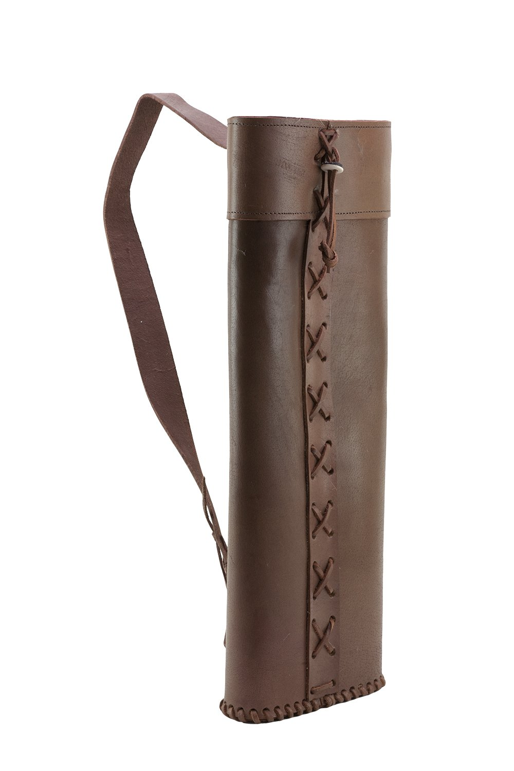 Rose City Archery XLG Full Leather Quiver, Large