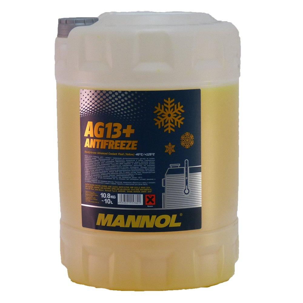 MANNOL Antifreeze AG13+ -40 Kü hlerfrostschutz Kü hlmittel 10L MN4014-10