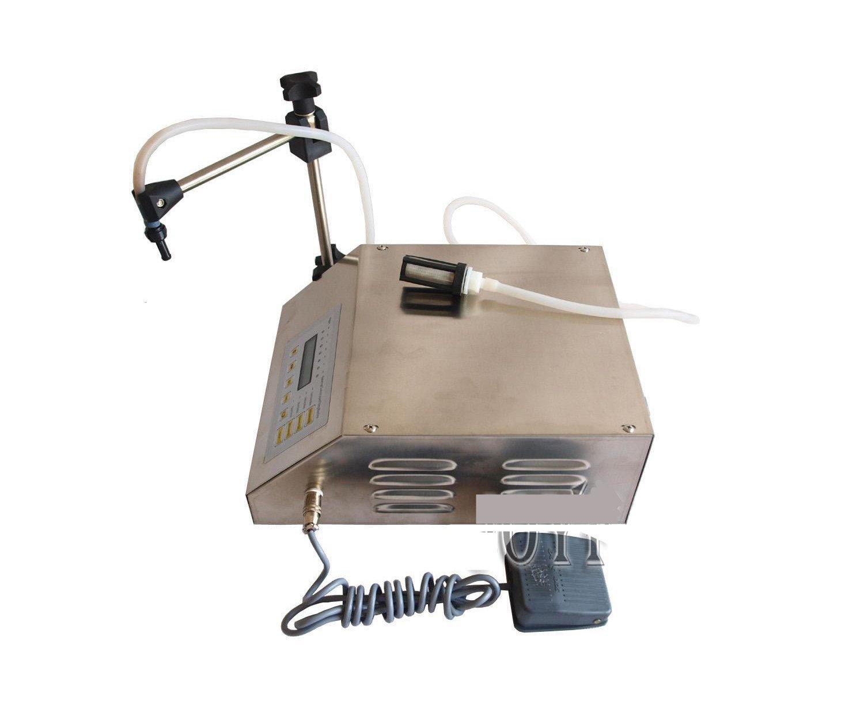 GFK-160 Digital Control Pump Drink Water Liquid Filling Machine 110V/220V 2-3500ml