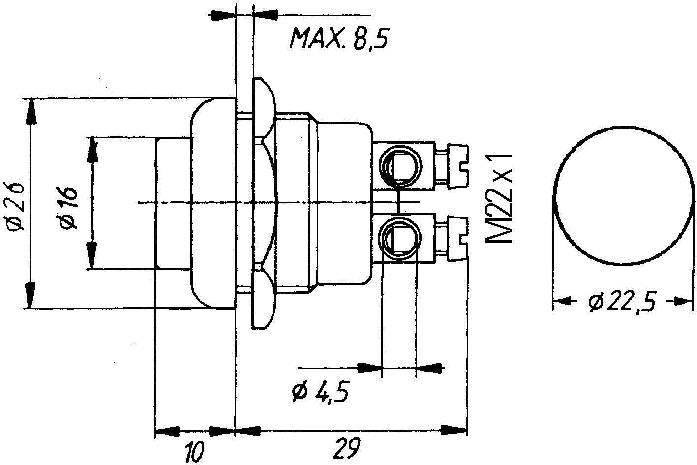 HELLA 6JF 001 571-171 Interruptor de encendido//arranque