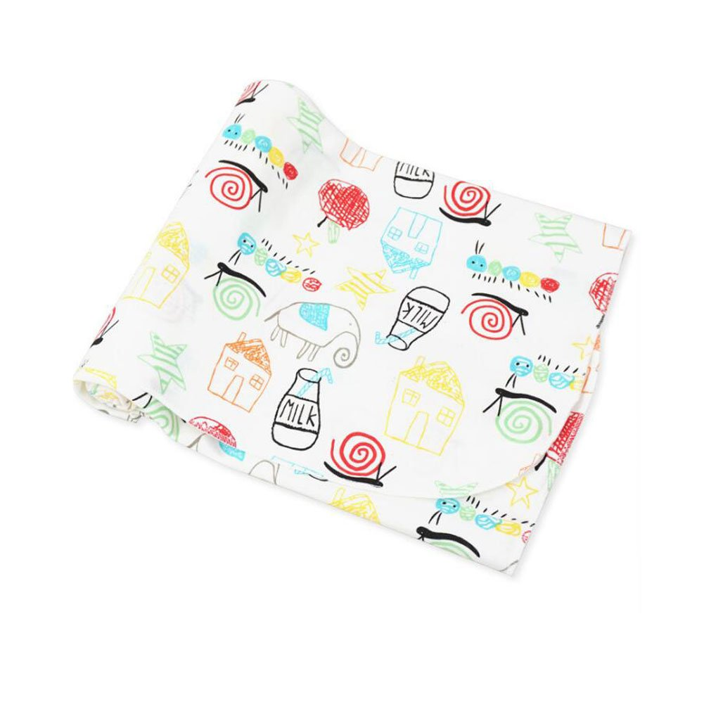 CuteOn Newborn Swaddle Baby Receiving Blanket - 100% Cotton - Super Soft for Baby Shower Gift
