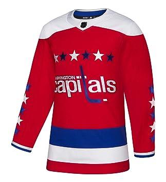 check out 43ab8 e5749 adidas Washington Capitals NHL Men's Climalite Authentic Alternate Hockey  Jersey