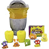The Trash Pack Series 5 Sewer Trash 12 Trashies in Toilet Pack Yellow