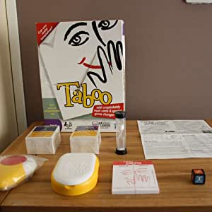 Hasbro Taboo - Juego de Mesa (en inglés): Hasbro Taboo Board Game ...