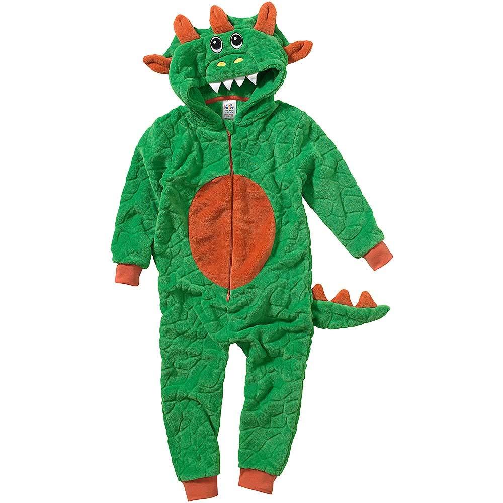 Onesies Pyjama Combinaison Jumpsuit Gar/çon Animal Crazy Polaire Douillet Ultradoux Dinosaure