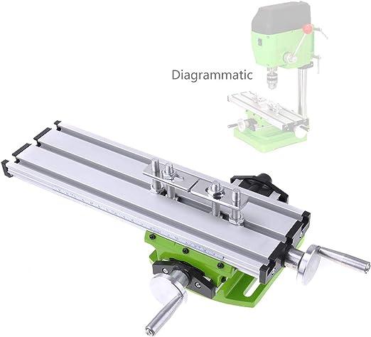 Fresadora Metal Fressadora de Mesa Coordenadas Multifunción de ...