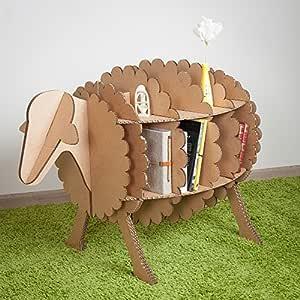 Marvel GGP DIY Cartón oveja libro organizador para niños