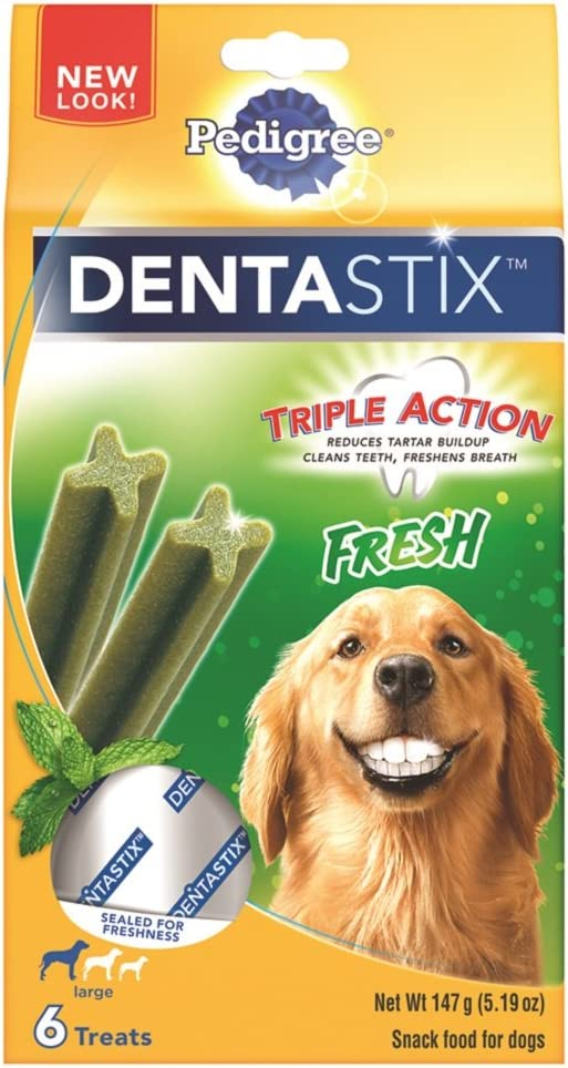 Pedigree Dentastix Dental Treats for Dogs – Large 30 lb