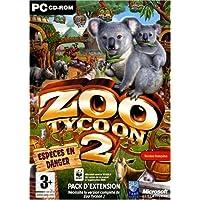 Zoo Tycoon 2 Endangered Species Win 98se/2k/Me/Xp Fr DVD Case CD (vf)