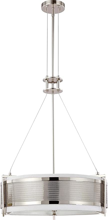 Nuvo Lighting 60/4443 Four Light Diesel Round Pendant with Slate ...