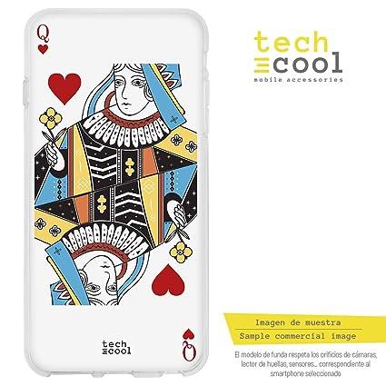 Funnytech® Funda Silicona para LG G6 [Gel Silicona Flexible ...