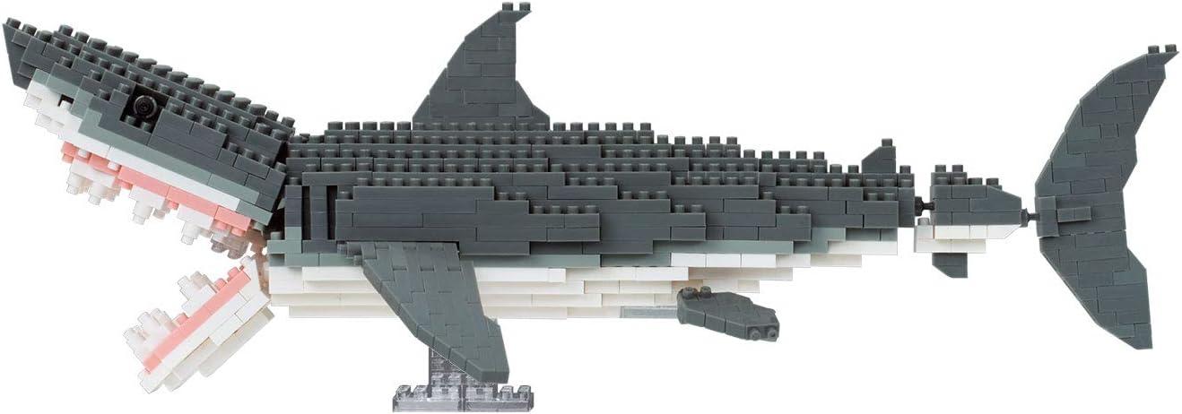Nanoblock Great White Shark Deluxe Edition