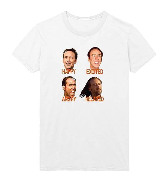 Amazon.com: Nicolas Cage Mood Faces Con Meme Air D22 ...