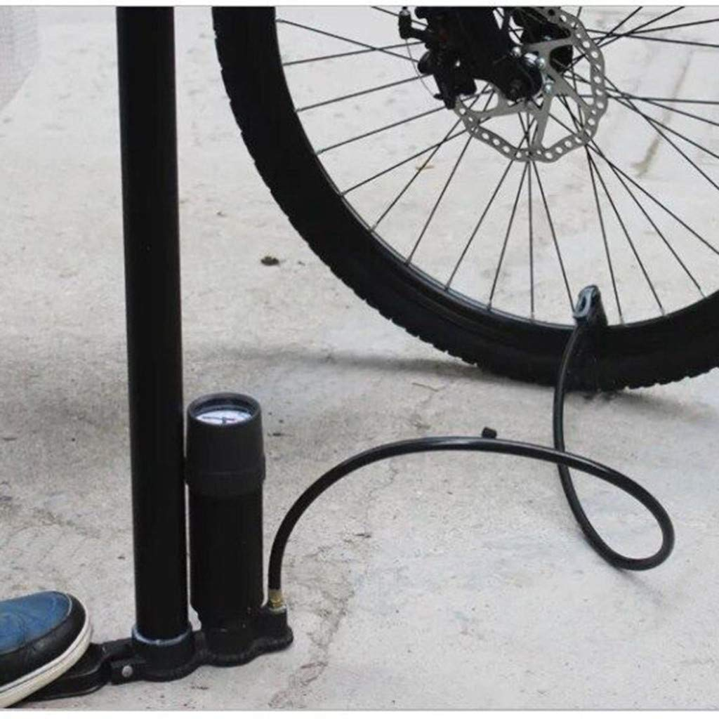RTYou Bicycle Ergonomic Bike Floor Pump with Gauge & Smart Valve Head 160 PSI Easily Switch Presta and Schrader 【Ship from USA 】 by RTYou (Image #9)