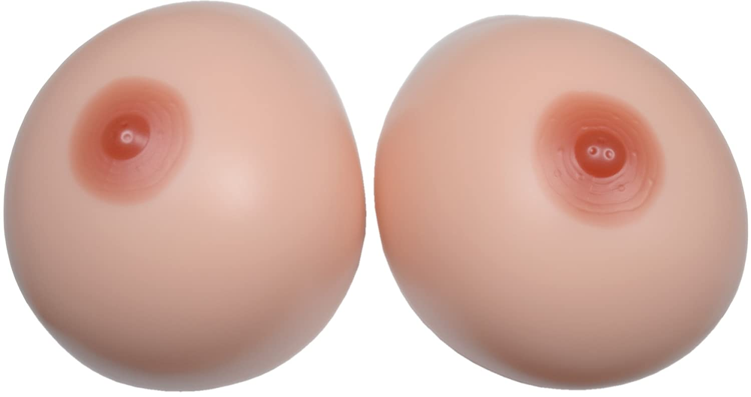 BIONORA Giant Silicone Breast Forms as Bra Inserts, realistic, approx. 5000 grams/Pair, Size 6XL, Cup J-K, without adhesive Layer 6xl2x2500wn