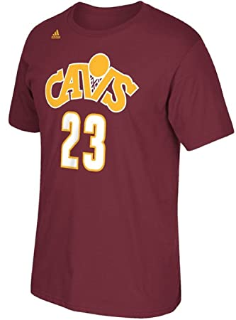 adidas Lebron James Cleveland Cavaliers # 23 NBA juventud reproductor de ClimaLite camiseta jersey, Rojo