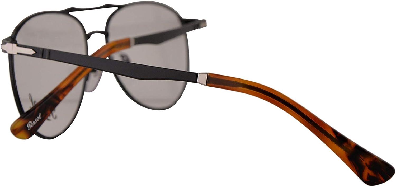 Persol 2453-V Brillen 54-14-145 Schwarz Mit Demonstrationsgl/äsern/1078 PO 2453V PO2453V PO2453-V